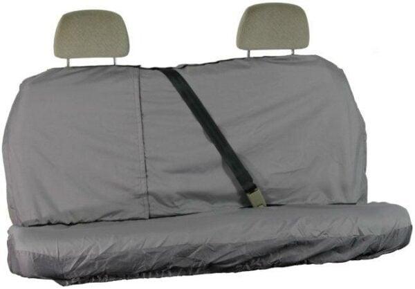 Grey Waterproof Rear Seat Cover