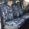 Renault Trafic Camouflage Seat Covers