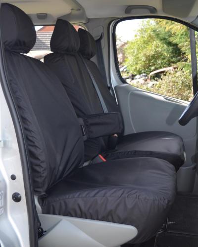 Renault Trafic Waterproof Seat Covers