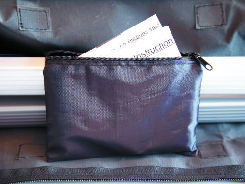 Roof Bar Fixings Storage Pouch