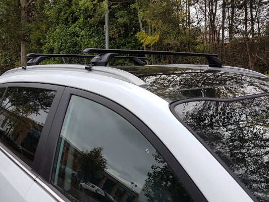 Roof Bars for Integrated Rails