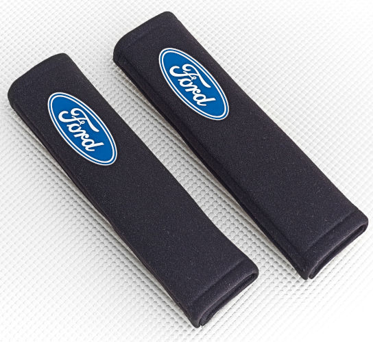 Seat Belt Pad with Ford logo