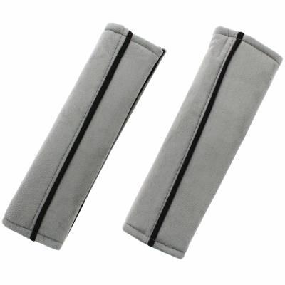 Seat Belt Pads - Grey