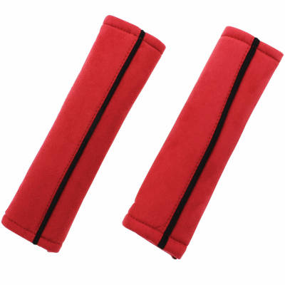 Seat Belt Pads - Red