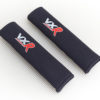 Seat Belt Pads with Vauxhall VXR logo