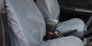 Isuzu Rodeo Front Seat Covers - Grey