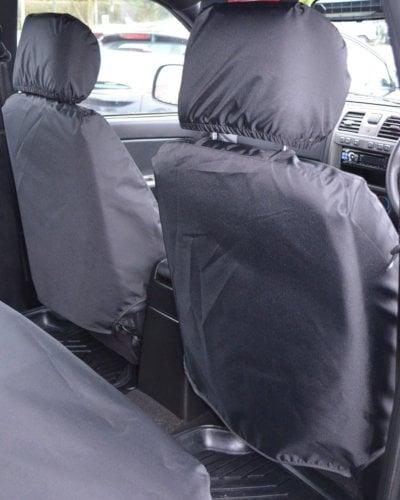 Isuzu Rodeo Pick-Up Truck Seat Covers - Black
