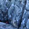 Sprinter Mk2 Seat Covers - Grey Camouflage Double Seat