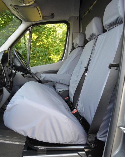 Sprinter Mk2 Seat Covers - Lift Up Passenger Bench