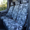 Sprinter Mk2 Seat Covers - Camouflage Dual Passenger Seat