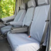 Sprinter Van Seat Covers - Grey Front