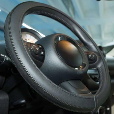 Steering Wheel Cover - Black