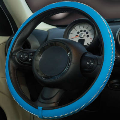 Steering Wheel Cover - Blue