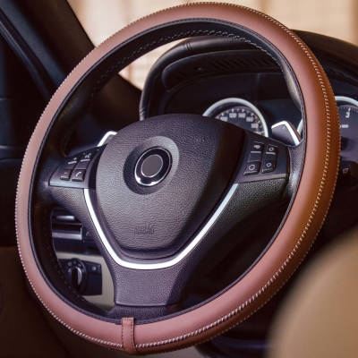 Steering Wheel Cover - Brown