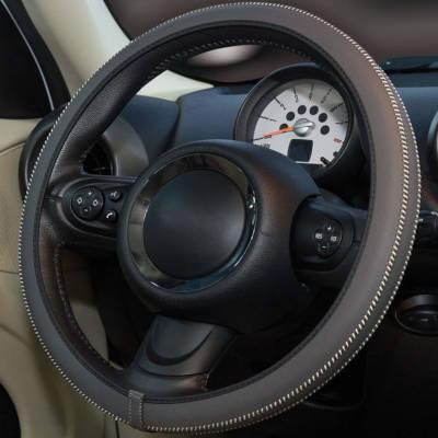 Steering Wheel Cover - Dark Grey