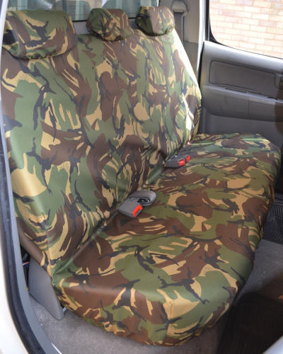 Toyota Hilux Invincible Back Seat Covers