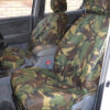 Toyota Hilux Invincible Camo Seat Covers