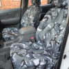 Toyota Hilux Invincible Camouflage Seat Covers