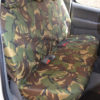 Toyota Hilux Back Seat Covers