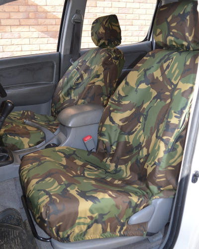 Toyota Hilux Camo Seat Covers