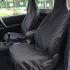 Toyota Hilux Single Cab Seat Covers - Black
