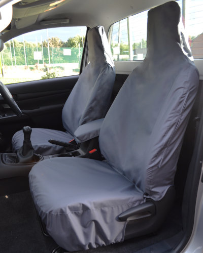 Toyota Hilux Single Cab Seat Cover - Grey
