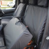 Toyota Proace Black Seat Cover - Lift Up Bench