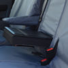 Tailored Cover for Toyota Proace Van Seat with Table