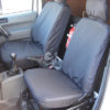 Ford Transit Connect Van Mk1 - Black Seat Covers