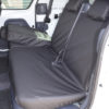 Ford Transit Connect Mk1 Van - Black Rear Seat Covers