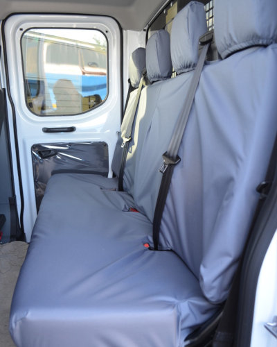Ford Transit Double Cab Grey Bench Seat Cover
