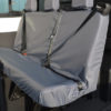 Ford Transit Double Cab Triple Rear Seat Covers in Grey