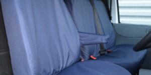 Ford Transit Van Mk6 to Mk7 Seat Covers - Blue