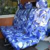 Transporter Kombi Blue Rear Seat Cover
