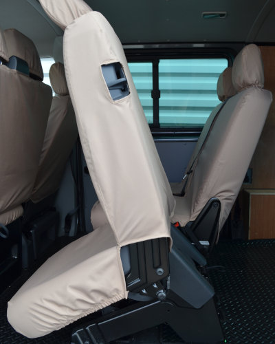 VW Transporter T5 Easy Entry Rear Seat Covers