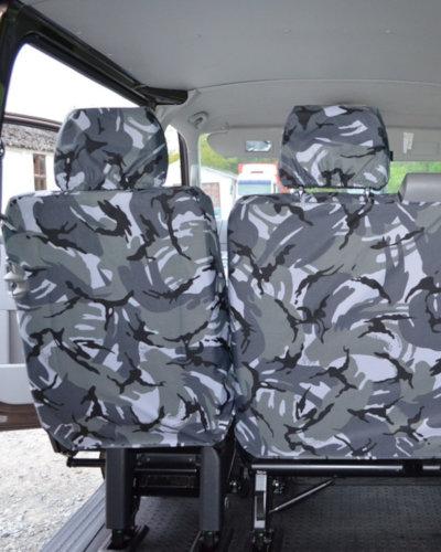 VW Transporter T5 Single Rear Seat Cover
