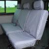 VW Transporter T5 Split Rear Seat Cover