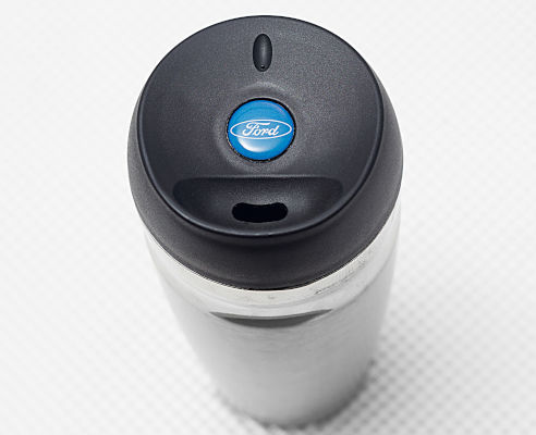 Travel Mug - Ford on Lid