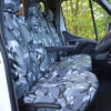 Vauxhall Movano Front Seat Covers Camo