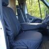 Vauxhall Movano Black Seat Covers