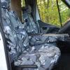 Vauxhall Movano Camo Seat Covers