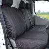 Vauxhall Vivaro Black Seat Covers