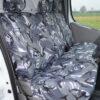 Vauxhall Vivaro Camo Seat Covers