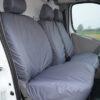 Vauxhall Vivaro Grey Seat Covers