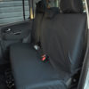 VW Amarok Tailored Rear Seat Covers