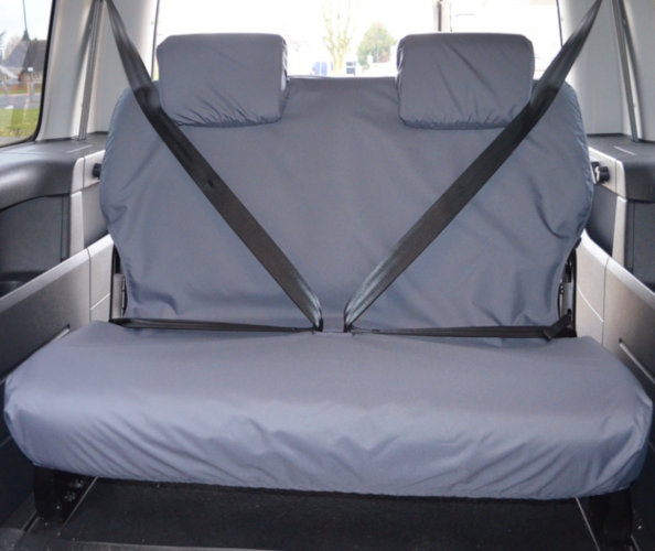 VW Caddy Back Seat Covers
