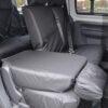 VW Caddy Split Rear Seat Covers
