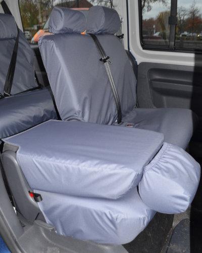 VW Caddy Fold Forward Rear Seat Covers