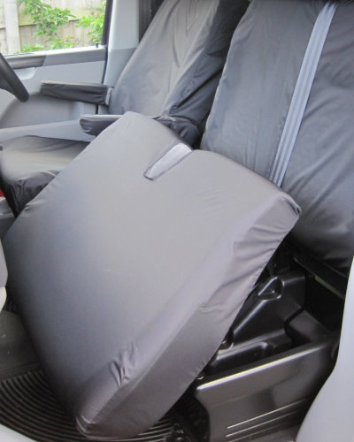 VW T5 Dual Passenger Seat Covers