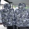 VW Transporter Kombi T6 Camo Seat Covers 2nd Row